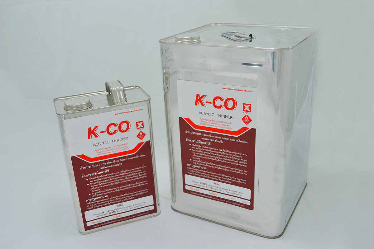 K-CO Acrylic Thinner